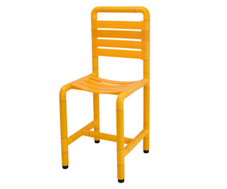 50200289- Nylon Elderly Care Stool with Back