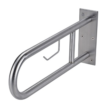 50400003-Stainless Steel U-Shaped Swing Up Grab Bar