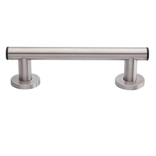 50400058-Stainless Steel Straight Grab Bar With Cover Flange