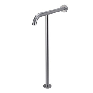 50400006-Stainless Steel Wall Ground Mounted Elderly Care T-shape Handrail