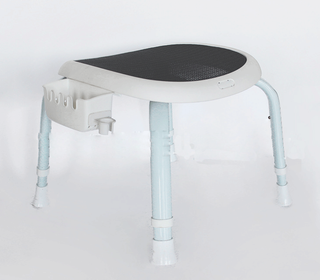 50500131- Bathroom Shower Stool with Soap Holder